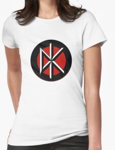 Retro Punk Restyling Dead kennedys Womens Fitted T-Shirt