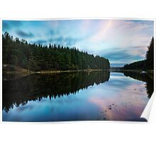 Entwistle Reservoir Sunset  Poster