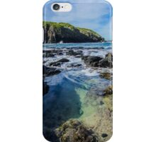 Rock Pool at Flinders Blowhole, Mornington Peninsula iPhone Case/Skin
