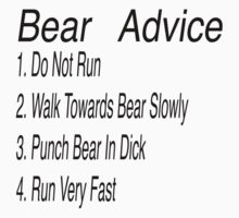 Bear Advice by oliviatbh