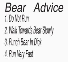Bear Advice by oliviatbh