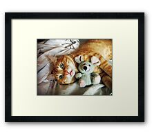 Whoops... we have a problem! Framed Print