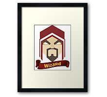 Wizzard 6th Level Framed Print