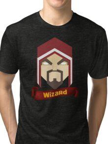 Wizzard 6th Level Tri-blend T-Shirt