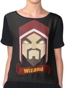 Wizzard 6th Level Chiffon Top