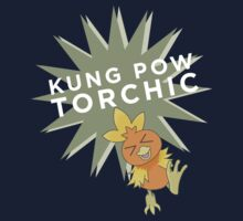 Kung Pow Torchic by uncivilmouse