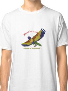 Rainbow Lorikeet - Colours of Australia Classic T-Shirt