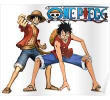 One piece-Luffy Poster