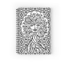 Tree fairy, nature, earth, peace, forest, green, save, planet, day, Spiral Notebook