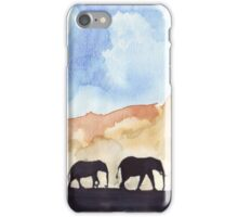 Silhouettes of Africa iPhone Case/Skin