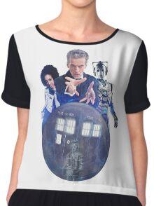 Doctor Who - Return to Mondas Chiffon Top