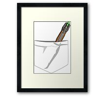 Doctor Who- Pocket Sonic Screwdriver (11th) Framed Print