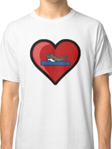 Baby Narwhal Love Classic T-Shirt