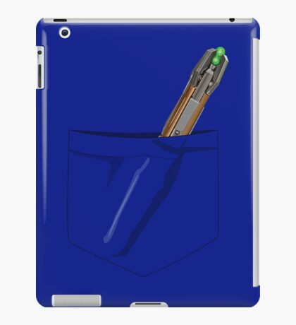 Doctor Who- Pocket Sonic Screwdriver (11th) iPad Case/Skin