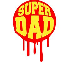 Super Dad Hero Graffiti Stamp by Style-O-Mat