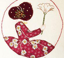 Feathery Friday Bonnet lady by Urbanfringe