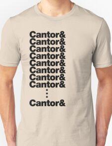 Cantor. Unisex T-Shirt