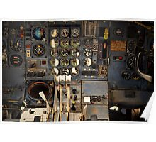 Cockpit by Byron Croft, Croft Photography Poster