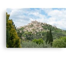 Gordes in Provence-Alpes-Côte d'Azur region in southeastern France Canvas Print