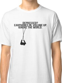 Music is the answer Classic T-Shirt