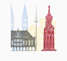Bremen skyline poster Unisex T-Shirt