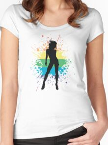 prideful woman Women's Fitted Scoop T-Shirt