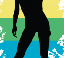 prideful woman Sticker