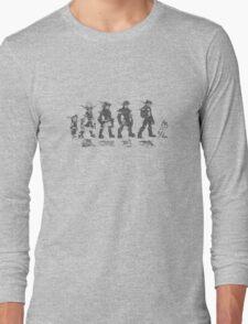 Jak and Daxter Saga - Black Sketch Long Sleeve T-Shirt