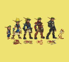 Jak and Daxter Saga - Full Colour by arunsundibob