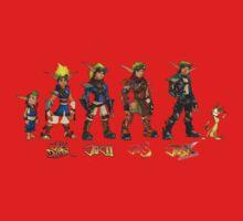 Jak and Daxter Saga - Full Colour One Piece - Short Sleeve