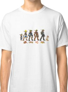Jak and Daxter Saga - Full Colour Classic T-Shirt