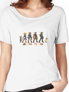 Jak and Daxter Saga - Full Colour Women's Relaxed Fit T-Shirt