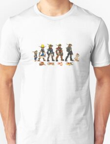 Jak and Daxter Saga - Full Colour Unisex T-Shirt