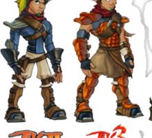 Jak and Daxter Saga - Full Colour Sticker