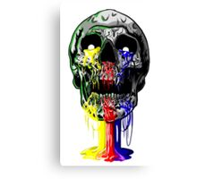 Heartless skull big Canvas Print
