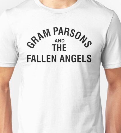 Gram Parsons and the Fallen Angels (black) Unisex T-Shirt