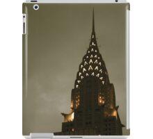Chrysler building at twilight iPad Case/Skin