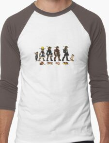 Jak and Daxter Saga - Full Colour Sketched Men's Baseball ¾ T-Shirt