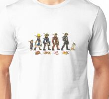 Jak and Daxter Saga - Simplified Colours Unisex T-Shirt