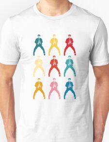 Elvis colors Unisex T-Shirt