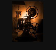 Old Hollywood 8mm Projector by Byron Croft Unisex T-Shirt