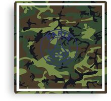 PSG Army Canvas Print