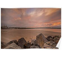 Thurso Sunset Poster