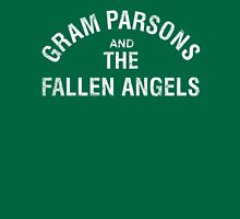 Gram Parsons and the Fallen Angels (white - distressed) Unisex T-Shirt