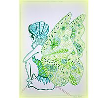 Fairy Green Photographic Print