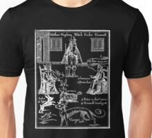 Witchfinder (white) Unisex T-Shirt