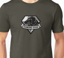 Metal Gear Solid V - Diamond Dogs (Monchromatic) Unisex T-Shirt
