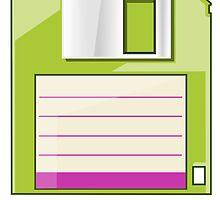 Green Floppy by Ewan T. Gibson