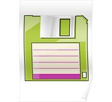 Green Floppy Poster