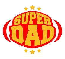 Cool Super Dad Hero Logo by Style-O-Mat
